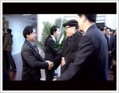 江泽民总书记亲切接见公司创始人张送根博士